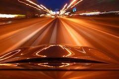 驱动速度 免版税库存图片