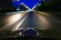驱动速度 图库摄影