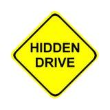 驱动隐藏的符号 免版税库存照片