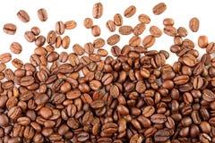 驱散咖啡豆 库存照片