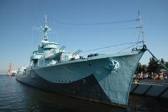 驱逐舰。 免版税库存图片