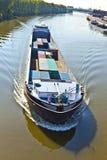 驳船主要河 免版税库存照片