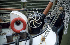 驳船详细资料 库存图片