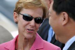 驻泰国Kristie Kenney的美国大使 免版税库存图片