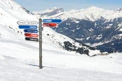 驾空滑车山 免版税图库摄影