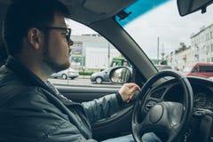 驾车人 图库摄影