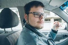 驾车人 免版税库存图片