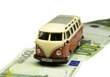驾车货币路 库存照片