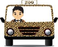 驾驶动物园 免版税库存照片