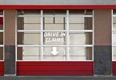 驾驶在要求 免版税库存图片