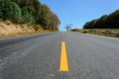 驾驶由路决定 免版税库存照片