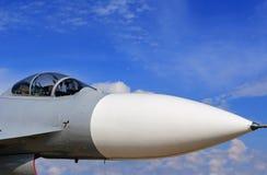 驾驶舱战斗机SU 35俄国制造 免版税库存图片