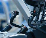 驾驶舱直升机 库存照片