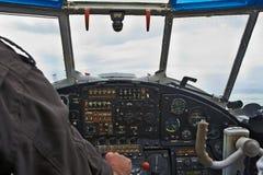 驾驶舱视图 库存图片
