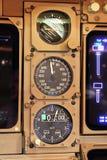 驾驶舱仪器 库存图片