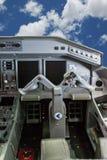 驾驶舱巴西航空工业公司175 库存图片
