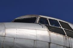 驾驶舱il 14飞机 库存照片