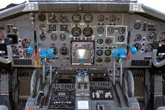 驾驶舱Transall C-160 库存图片
