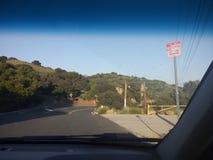驾驶通过加利福尼亚 免版税图库摄影