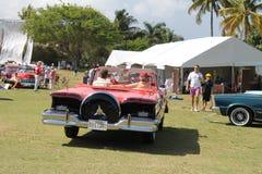 驾驶经典的Edsel  免版税图库摄影