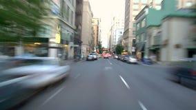 驾驶黄昏的波特兰市 影视素材