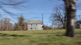 驾驶3的底特律少数民族居住区 股票录像