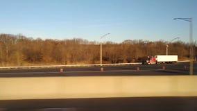 驾驶NJ收费公路,美国 影视素材