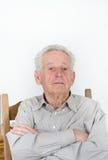 骄傲的老人 免版税图库摄影