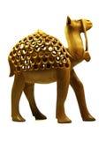 骆驼小雕象 库存照片
