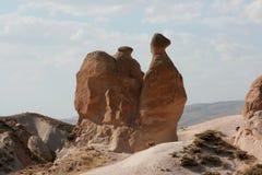 骆驼岩石 免版税库存照片