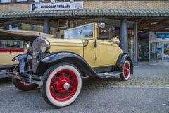 经验丰富的汽车, 1930塑造浅滩敞篷车 免版税图库摄影