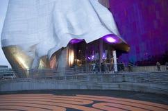 经验音乐项目博物馆EMPM西雅图 库存照片