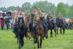 骑兵独立小分队 库存照片