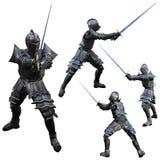 骑士剑客 免版税库存照片