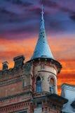 骑士城堡 库存图片