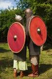 骑士夫妇  免版税库存照片