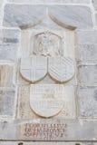 骑士标志 免版税库存照片