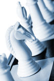 骑士白色 免版税库存图片