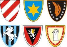 骑士的徽章 免版税库存照片