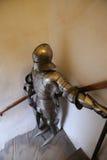 骑士的装甲 库存图片