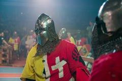 骑士的画象 免版税图库摄影