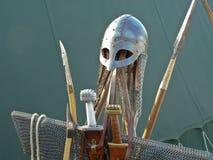 骑士盔甲 免版税图库摄影