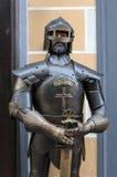 骑士装甲 免版税库存照片