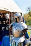 骑士装甲 库存照片
