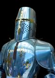 骑士钢装甲复制品托莱多西班牙 图库摄影