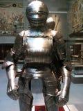 骑士` s装甲在博物馆 库存照片