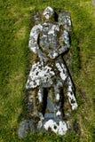 骑士Kilmuir Graveyrad 免版税库存照片
