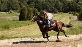 骑师 免版税库存照片