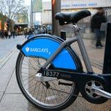 骑自行车伦敦s模式共享 免版税库存照片