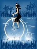 骑自行车历史记录 皇族释放例证